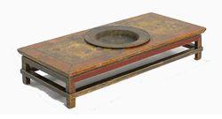 Mongolian Kang Fire Table