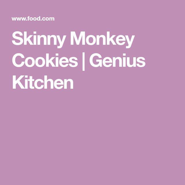 Skinny Monkey Cookies | Genius Kitchen