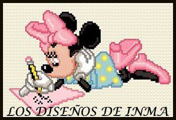 PDF Gráfico Punto de Cruz, Disney 45, Disney Punto de Cruz, Disney, Disney Cross Stitch Pattern