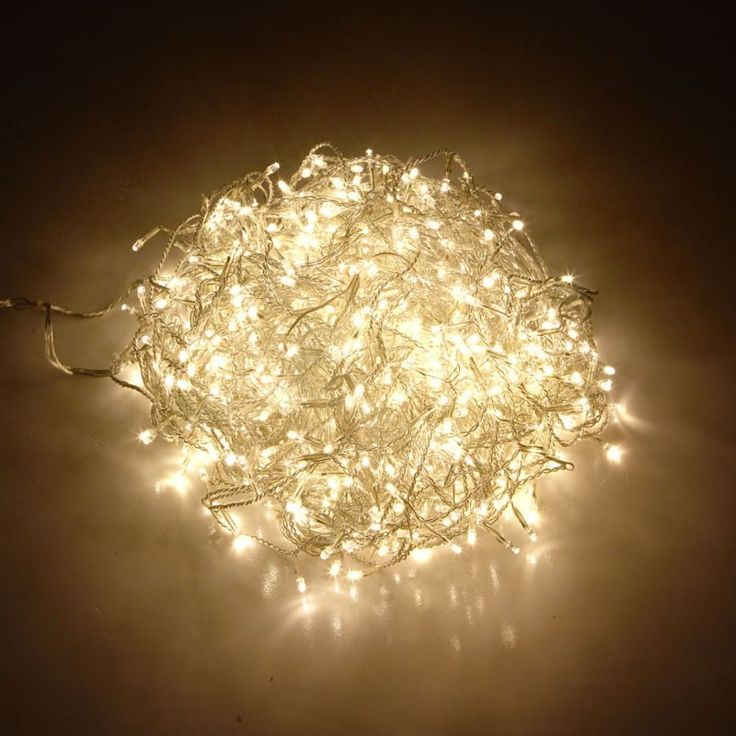 800 Icicle LED Christmas Lights in Warm White | Buy More