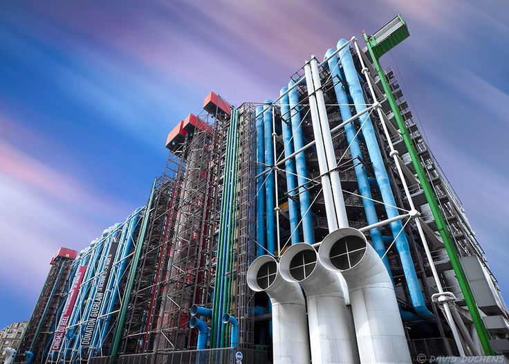 Georges Pompidou Center for Art and Culture in Paris by David Duchens on 500px
