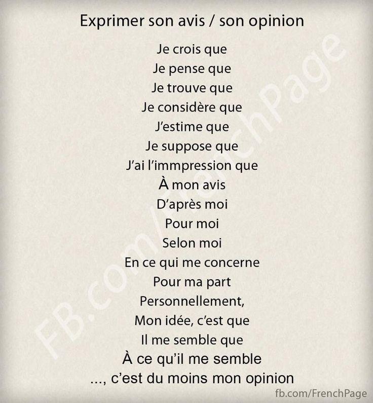 """exprimer son opinion writing starters -  ;)) : à la 7ème il n'y a qu'un """"m"""" dans """"impression"""""""