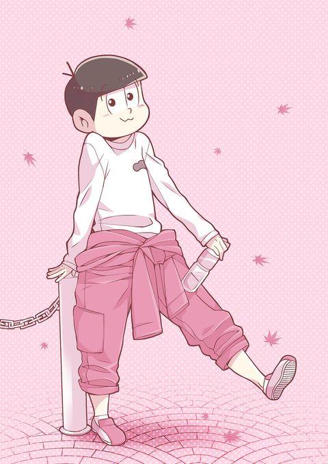 おそ松さん Osomatsu-san トド松「PINK」/「うさぽんぬ」のイラスト [pixiv]