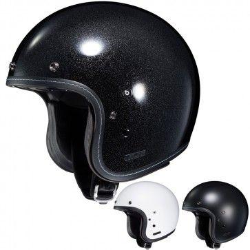 HJC IS-5 Solid Matte/Metallic Three Quarter Mens Street DOT Motorcycle Helmets