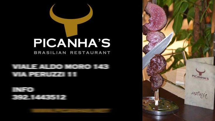 Ristorante Pichana's Per il vostro capodanno all'insegna del divertimento, prenota al Ristorante Picanha's, cucina Brasiliana e tanta musica, con una sorpresa. Viale Aldo Moro, 143 - Olbia