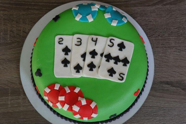 Poker taart
