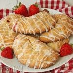 Strawberry Hand Pies is a recipe I would try. I loved making FRIED APPLE PIES! These you bake.