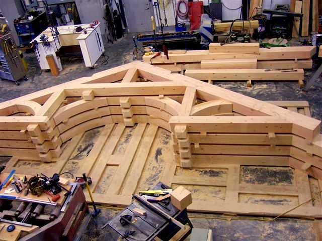 Timber Frame Hammer Beam Google Search Timber Framing