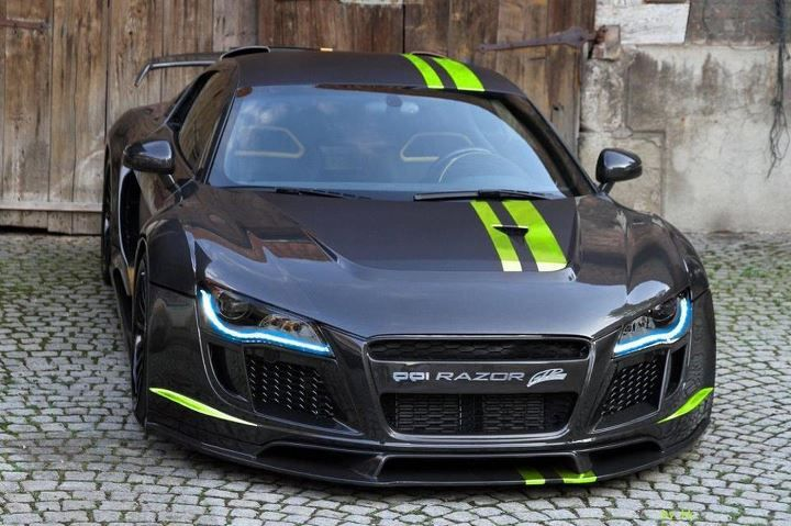 Audi R8 PPI Razor my dream car