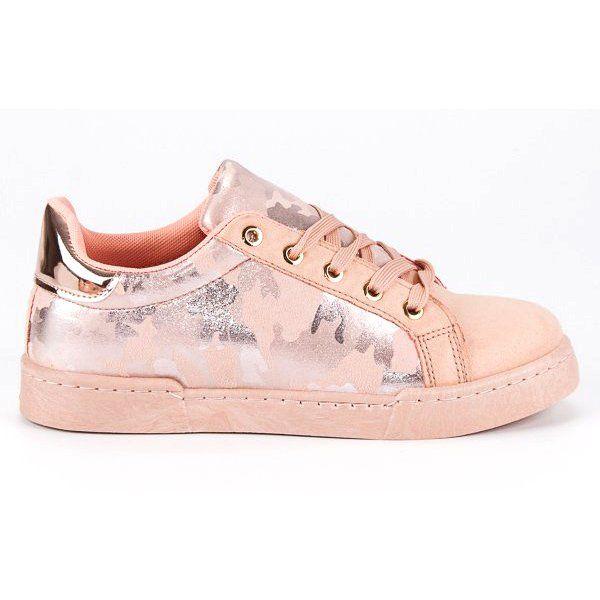 Rozowe Trampki Na Wiazanie Footwear Shoes Sneakers