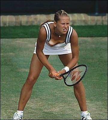 Female tennis players wardrobe malfunction have forgotten