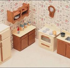 making doll furniture. how to make your own doll house furniture making