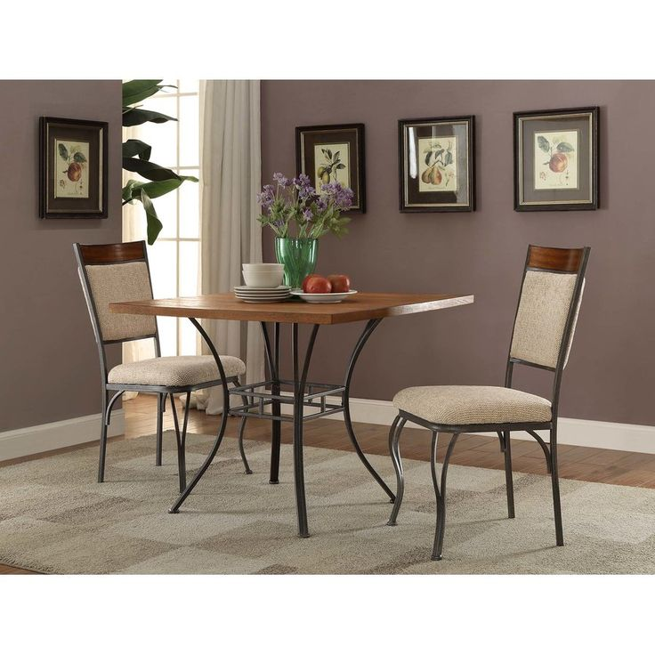 Abbotsford 3 Piece Dining Set