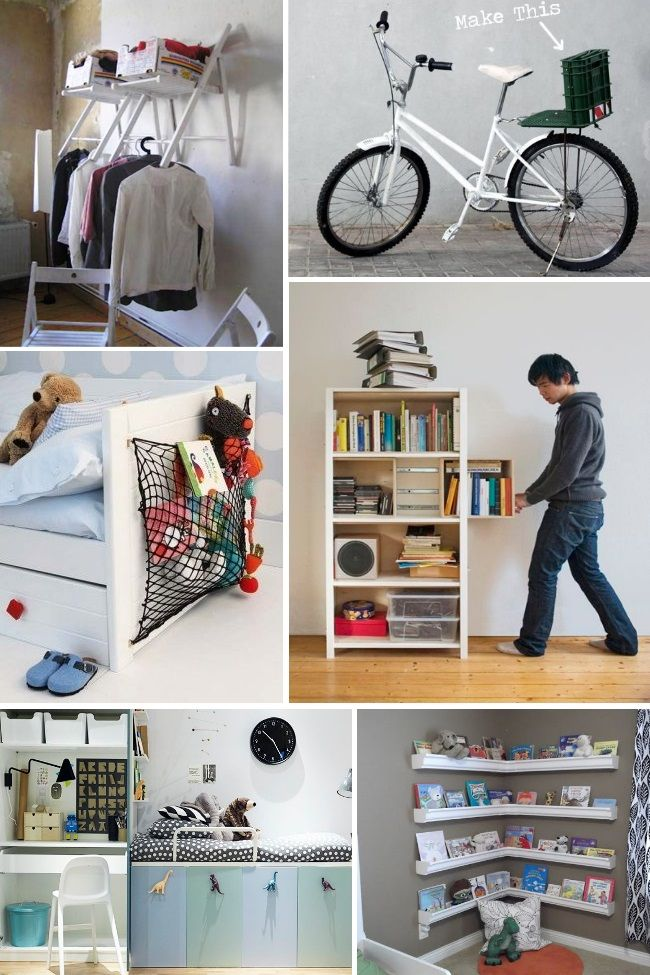 Are you constantly struggling to find ideas to organize a small space? Here are some genius small space organization ideas.