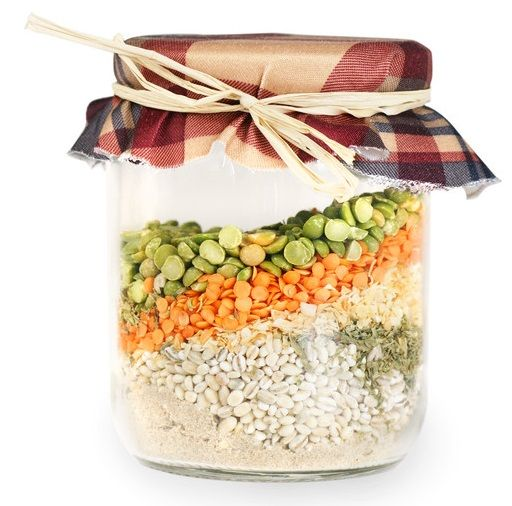 Soup Mix in a Jar Recipes - There are many recipes to choose from.  A very healthy gift and recipients will definitely appreciate it after the holidays.