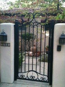 Gates - Sacramento Iron Railings | Wrought Iron Gates and Wrought ...