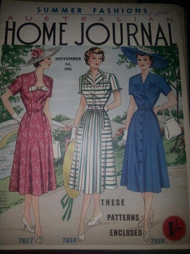 Australian home journal November 1951 cover