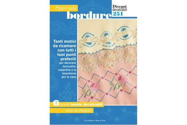 Hand Embroidery Designs - Borders n. 251