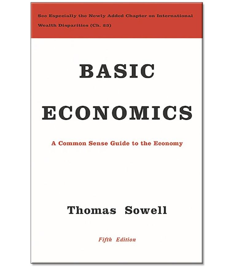 Thomas sowell basic economics hardcover book philosophy