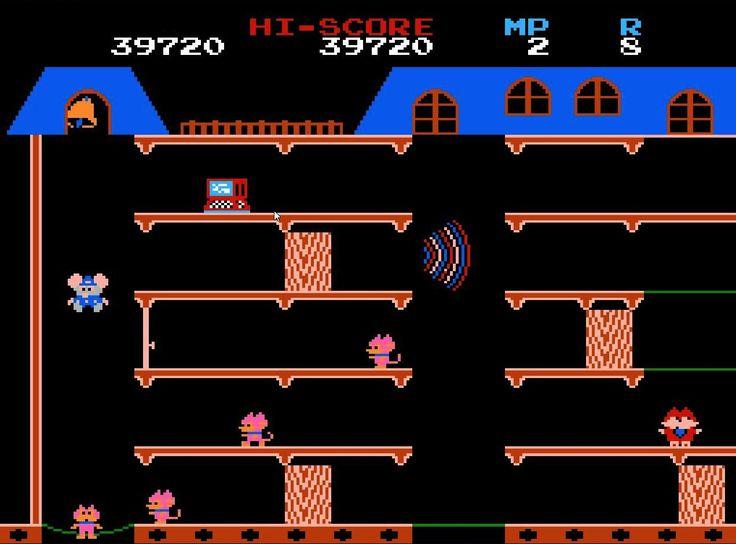 NES Mappy