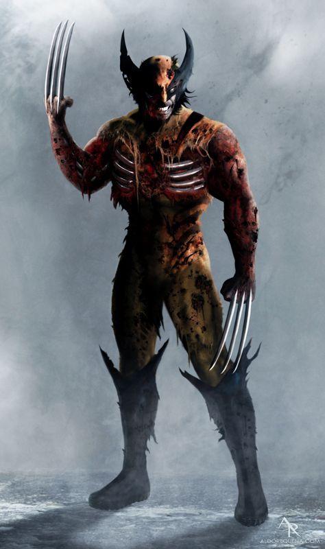 Wolverine by Aldo Requena
