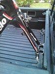 RockyMounts Clutch SD Truck Bed Rail Bike Carrier - Fork Mount - Bolt On RockyMounts Truck Bed Bike Racks RKY011