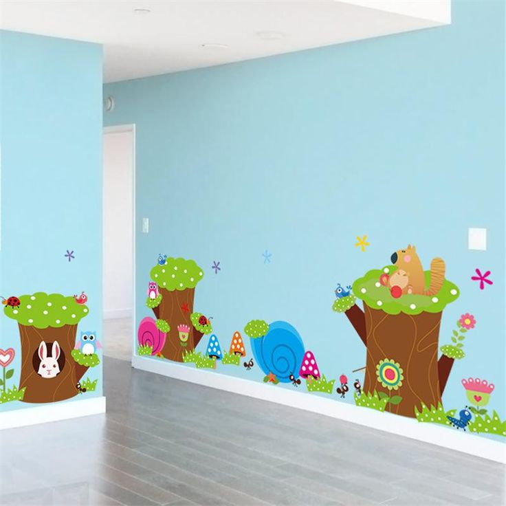 >> Click to Buy << DIY Cartoon jungle animals children room decoration wall stickers kids room decor sticker baby toy gifts #Affiliate