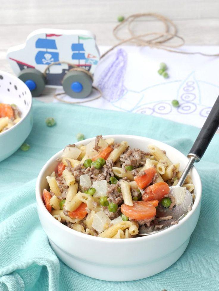 """One Pot Pasta """"Vikings"""" aus dem Kochbuch meiner Kinder   – Familienkost-Rezepte für Babys ab 8-10 Monaten und Kleinkinder"""