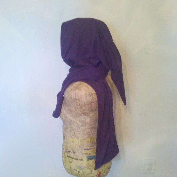 Mystic hoodie scarf by EitanyaDesigns on Etsy