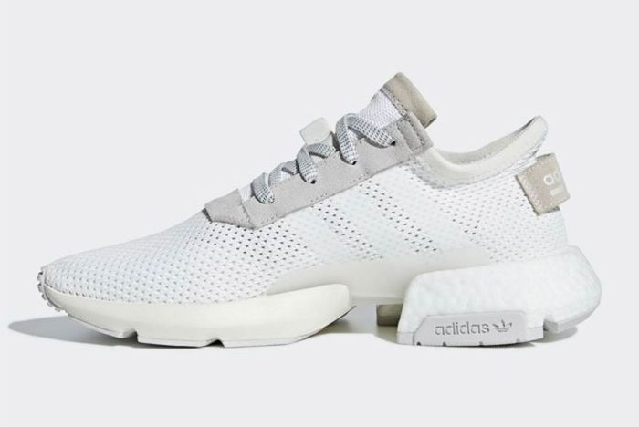 03f60dac1c564 The adidas POD S-3.1 'Triple White' | Sneaks & Socks | Sneakers ...