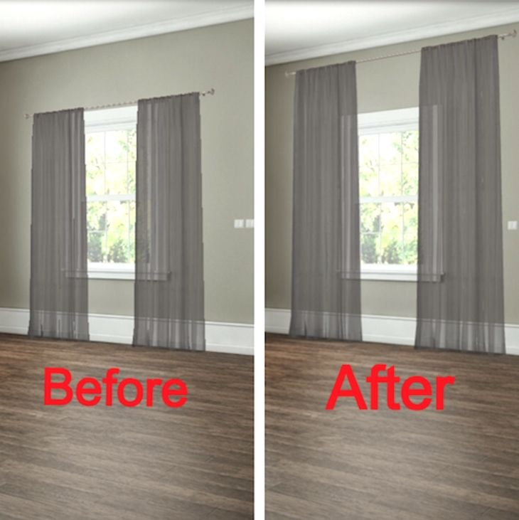 Curtains Control Light And Privacy While Also Reflecting Your Own Personal Style However These Cool Curtain Hacks Can Show You How