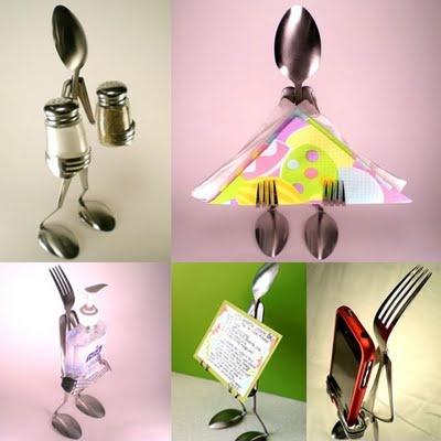 Fascinating Spoon And Fork Art Funny Things Pinterest