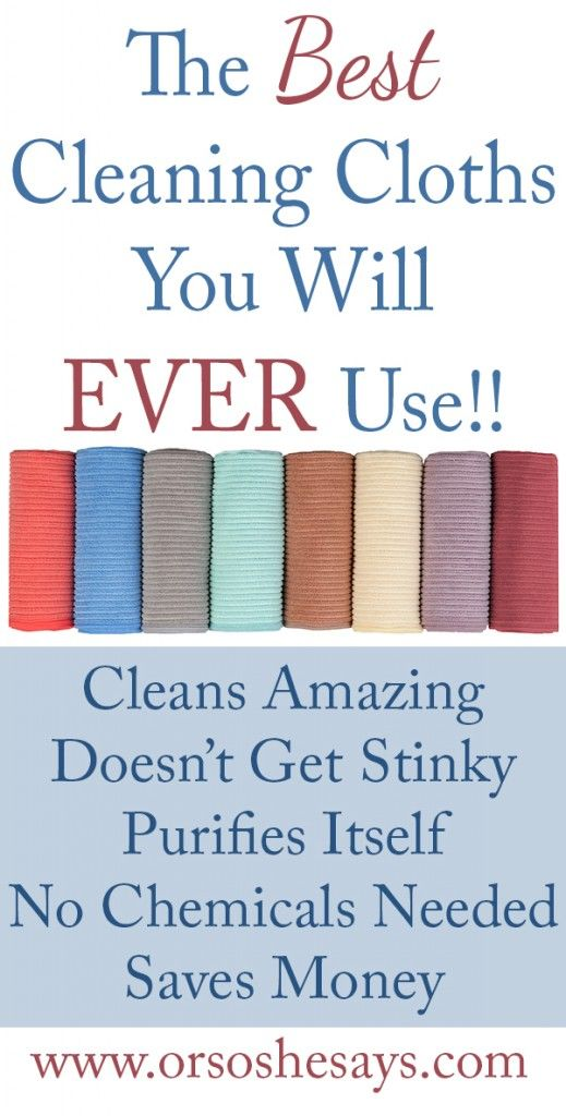 The Best Cleaning Cloths You Will Ever Use! ~ I would happily receive these as a Mother's Day gift!