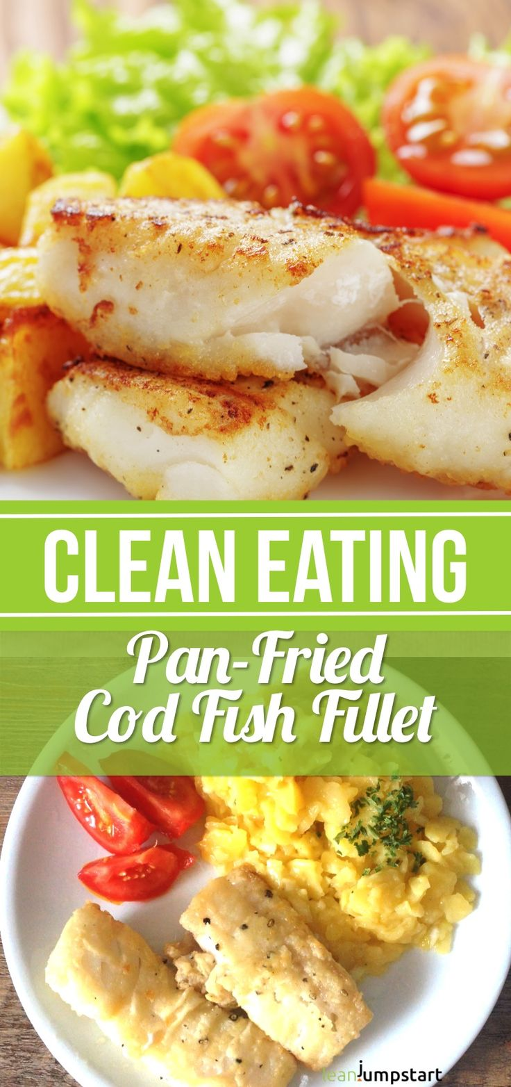 From all codfish recipes I know, this pan-fried clean eating cod fish might be…