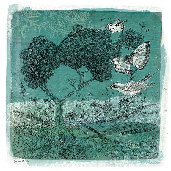 Wilderness - Canvas by Sweet William