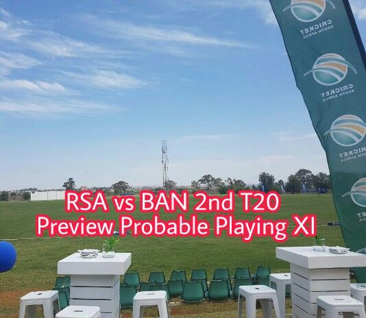 SA vs BAN 2nd T20 Probable Playing XI and Preview. We cover South Africa vs Bangladesh 2nd T20 Preview and Dream11 Cricket Team.