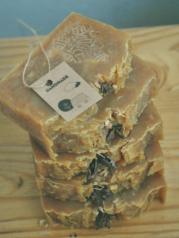 Soap olive and coconut oil Soap hand-made