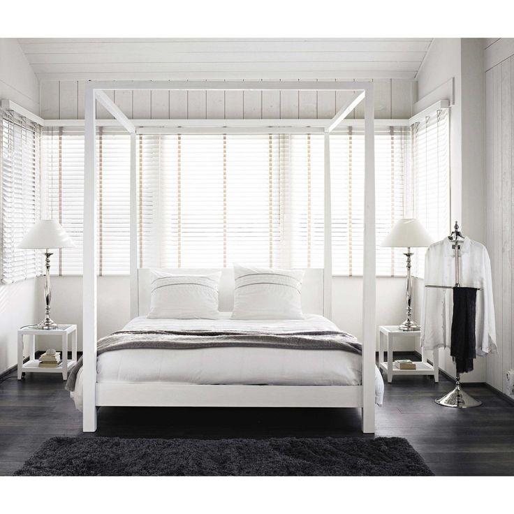 les 25 meilleures id es de la cat gorie chambres blanc cass sur pinterest murs blancs. Black Bedroom Furniture Sets. Home Design Ideas