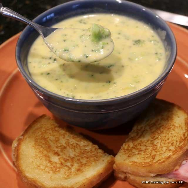 One pot, one hour, great soup. Oh so easy. Better than restaurant quality broccoli cheese soup for your family or company. You will love this soup.