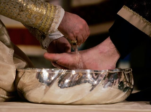 What Do Christians Celebrate on Maundy Thursday?: Foot-washing ceremonies are often a part of Maundy Thursday services.