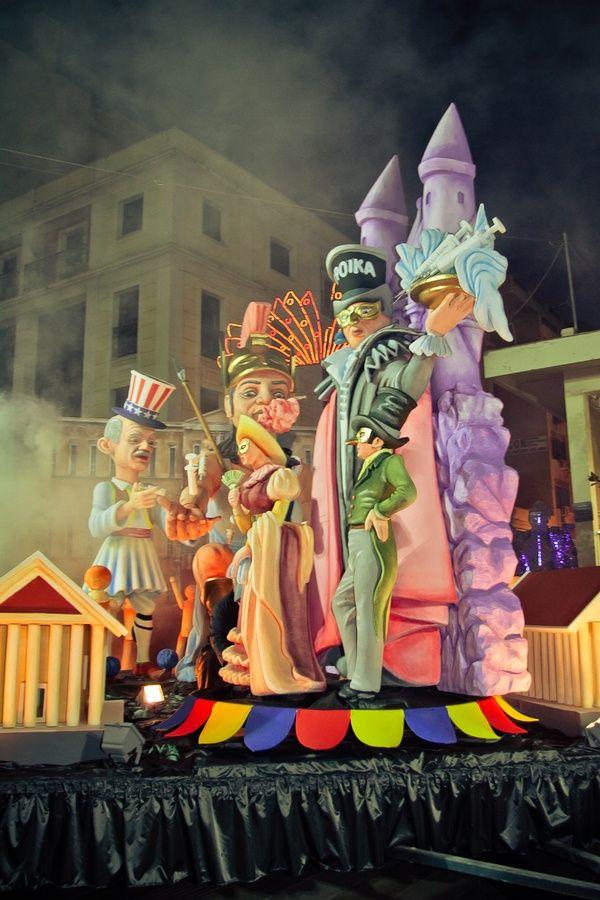 """Die Stadt Patras ist auch als """"Karnevalshochburg"""" Griechenlands bekannt..."""