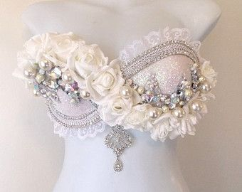white rabbit rave bra - Google Search