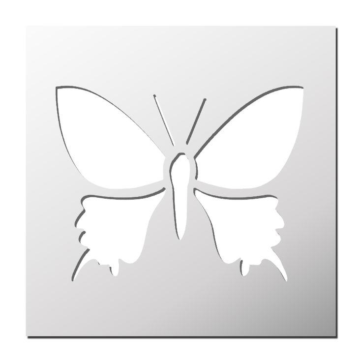les 25 meilleures id es de la cat gorie pochoir papillon sur pinterest motif papillon mod les. Black Bedroom Furniture Sets. Home Design Ideas