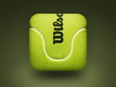 tennis ball icon app