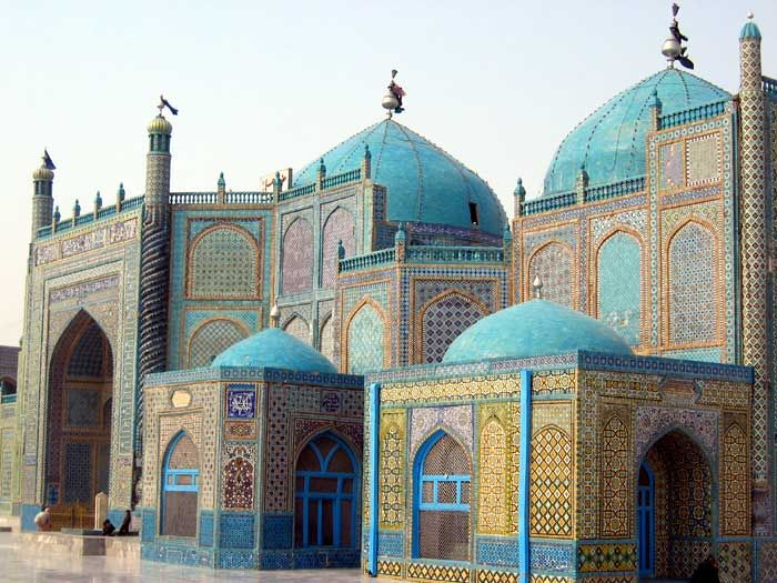 Welcome to the Islamic Holly Places  Shrine Of Hazrat Ali (mazari sharif) Afghanistan