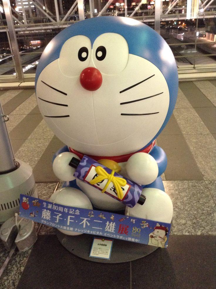 Doraemon at JR Osaka station