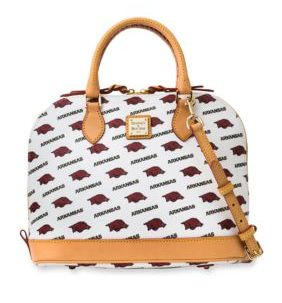 Support your team by purchasing this gorgeous Dooney and Bourke handbag.