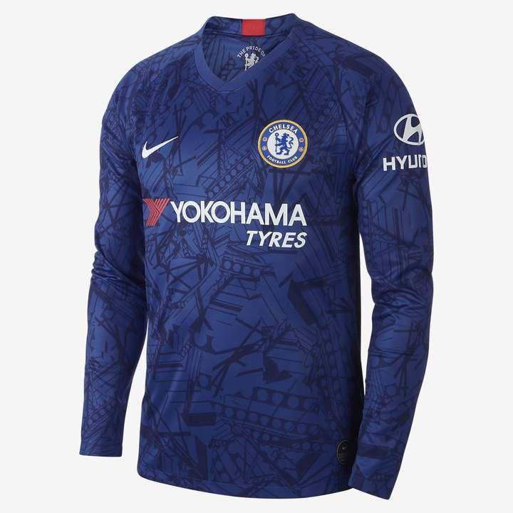 buy online 03067 dd555 Nike Men's Long-Sleeve Soccer Jersey Chelsea FC 2019/20 ...
