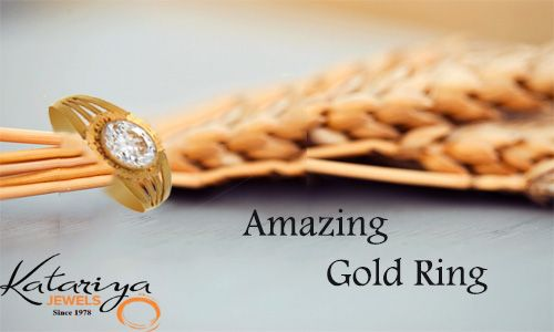 Gold Ring With White Stone  Buy Now:http://buff.ly/1TGIMlE COD Option Available With Free Shipping in India