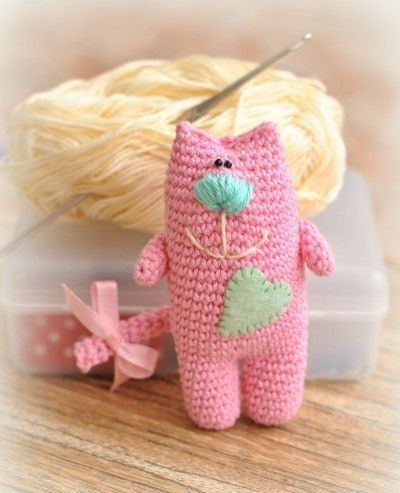cat amigurumi pattern free